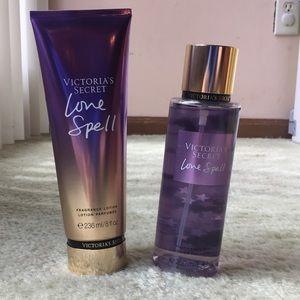 Victorias secret love spell bundle